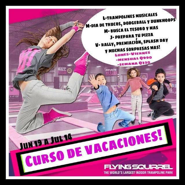curso de vacaciones para niños en Guatemala