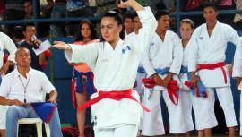 Nathalie Barrera fue una de las atletas más destacadas tras ganar un oro y plata en el campeonato. (Foto: CDAG)