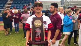 Diego Meneses es campeón de Juegos Regionales NCAA de béisbol 2017 en Estados Unidos