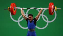 El atleta olímpico se colgó un bronce y dos platas en las tres pruebas que participó. (Foto: COGuatemalteco)