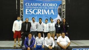 (Foto: Federación Nacional de Esgrima de Guatemala)