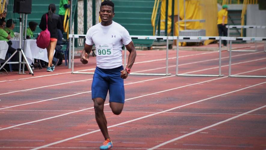 El atleta de Izabal se quedó a casi 1 segundo de conseguir su clasificación al Mundial de Atletismo. (Foto: FNA)