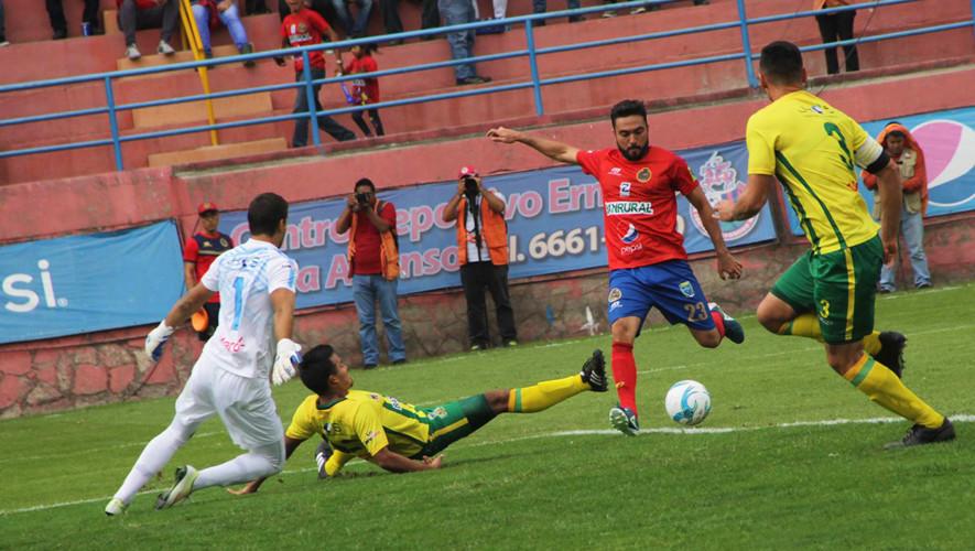 Partido de vuelta Municipal vs Guastatoya, final del Torneo Clausura   Mayo 2017