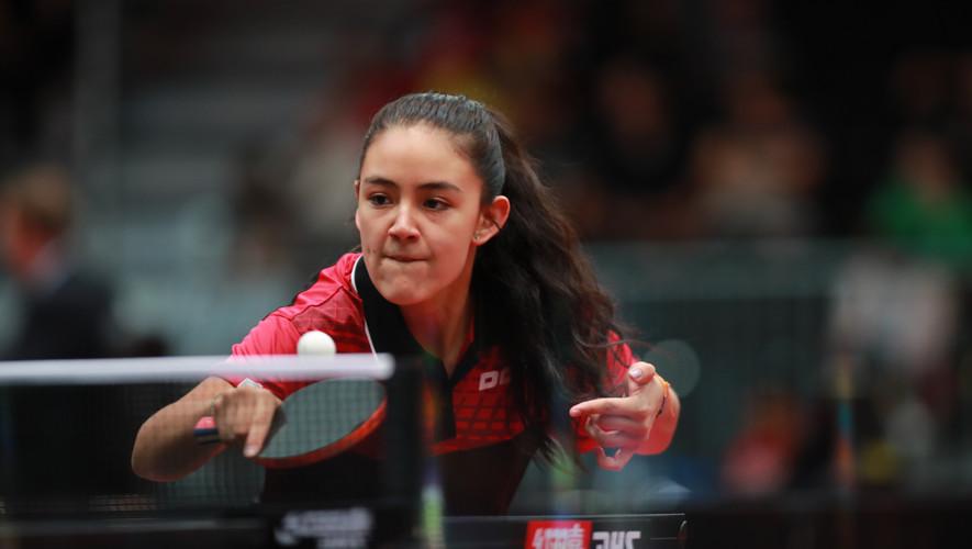 Lucia Cordero consiguió la mejor participación de Guatemala al conseguir una victoria en la fase de clasificación. (Foto: ITTF World)