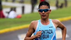 Pontaza buscará quedar entre los primeros lugares de la distancia sprint que se realizará en México. (Foto: COGuatemalteco)