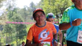 Gracias a sus logros, Herlinda formó parte del grupo de corredores Legión Gatorade en los últimos años. (Foto: RunGuate)
