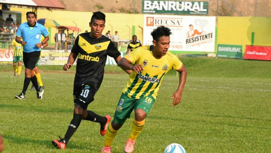 Partido de ida Guastatoya vs Petapa, semifinales del Torneo Clausura | Mayo 2017