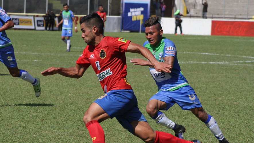 Partido de ida Suchitepéquez vs Municipal, semifinales del Torneo Clausura   Mayo 2017