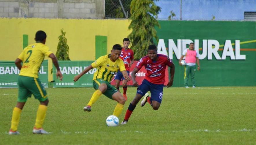 Partido de ida Xelajú vs Guastatoya por cuartos de final del Torneo Clausura | Mayo 2017