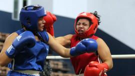 Las mejores boxeadores juveniles y élite se enfrentarán durante tres días en el Palacio de los Deportes. (Foto: CDAG)
