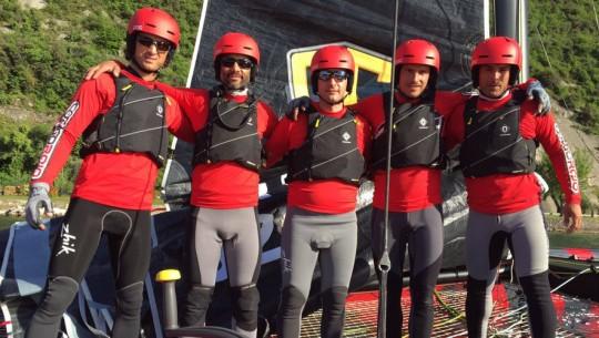 Jason se encuentra listo para ser parte del equipo Código Rojo GC32. (Foto: Código Rojo GC32 Racing Team)