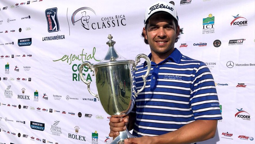 Toledo se consagró campeón en Costa Rica. (Foto: Enrique Berardi/PGA TOUR)
