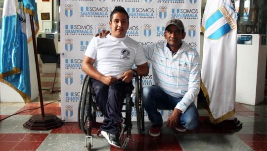 Luis Orozco será el primer guatemalteco en participar en una competencia internacional de remo adaptado. (Foto: CDAG)