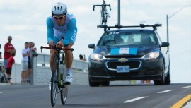 Manuel Rodas logró consagrarse como el tercer ciclista más rápido de América. (Foto: COGuatemalteco)