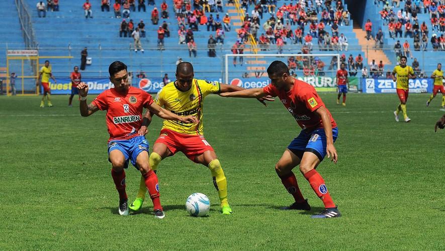 Partido de Marquense vs Municipal por el Torneo Clausura | Mayo 2017
