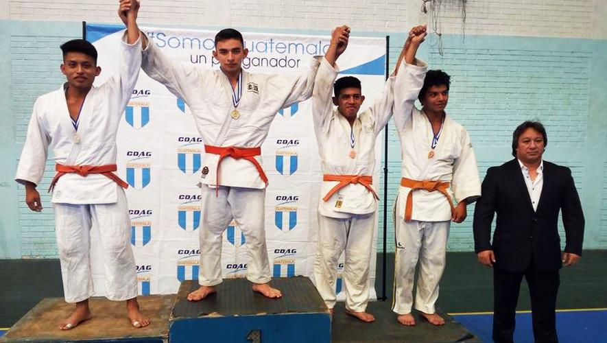 Los judocas de Alta Verapaz lograron ubicarse como los mejores de Guatemala. (Foto: Federación Nacional de Judo)