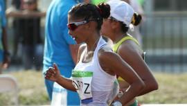 Mirna Ortiz es una de las favoritas para llevarse una medalla en la prueba de los 20km femenino. (Foto: COGuatemalteco)