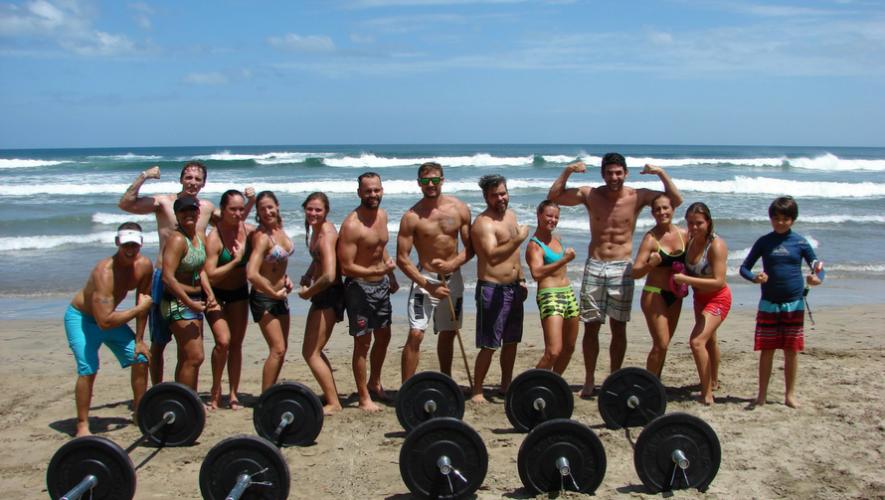 Viaje de reto Fitness en Monterrico | Junio 2017