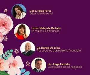 Conferencistas en Cumbre Financiera