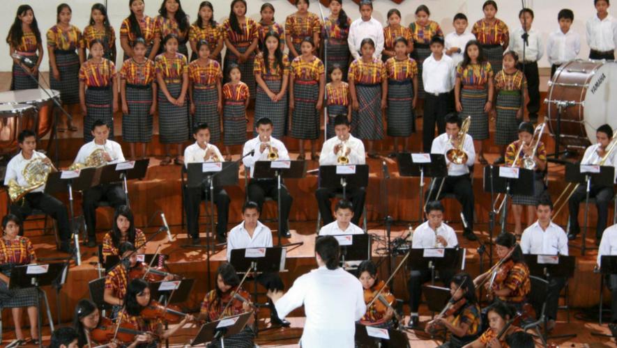 Concierto de música clásica con orquesta de niños en Centro Cultural Miguel Ángel Asturias | Junio 2017