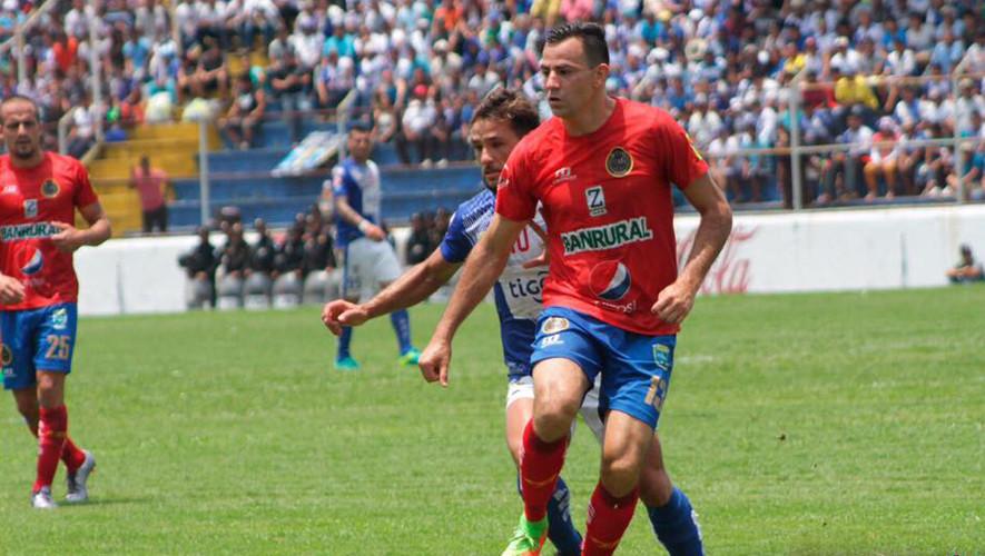 Partido de vuelta Municipal vs Suchitepéquez, semifinales del Torneo Clausura   Mayo 2017