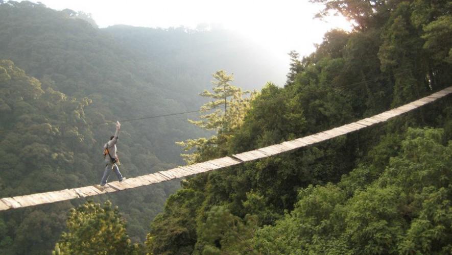 Viaje a Parque Ecológico Pino Dulce por Aventura Vertical Gt | Mayo 2017