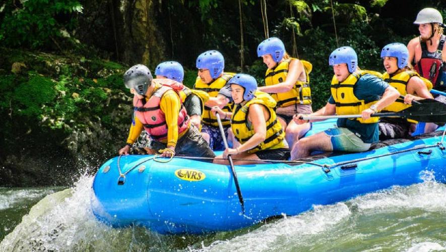 Viaje para hacer rafting en Río Cahabón y visitar Semuc Champey en Alta Verapaz | Junio 2017