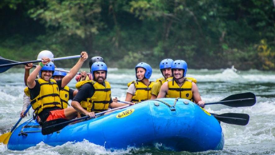 Viaje para hacer rafting en Río Cahabón y visitar Semuc Champey en Alta Verapaz | Mayo 2017