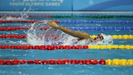 La nadadora olímpica batió su propio récord en la prueba combinada y además obtuvo su clasificación al Mundial de Natación. (Foto: COGuatemalteco)