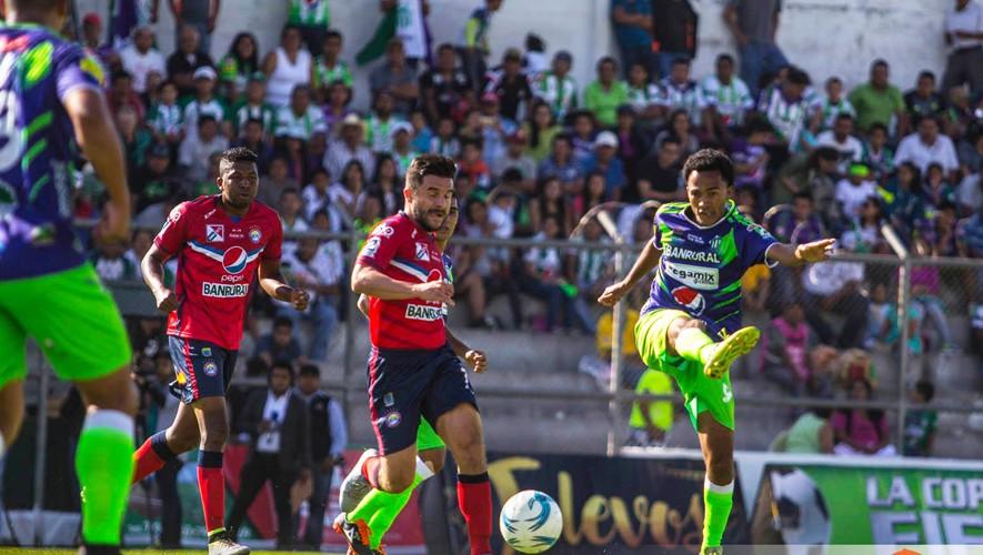 Partido de Xelajú vs Antigua por el Torneo Clausura   Mayo 2017