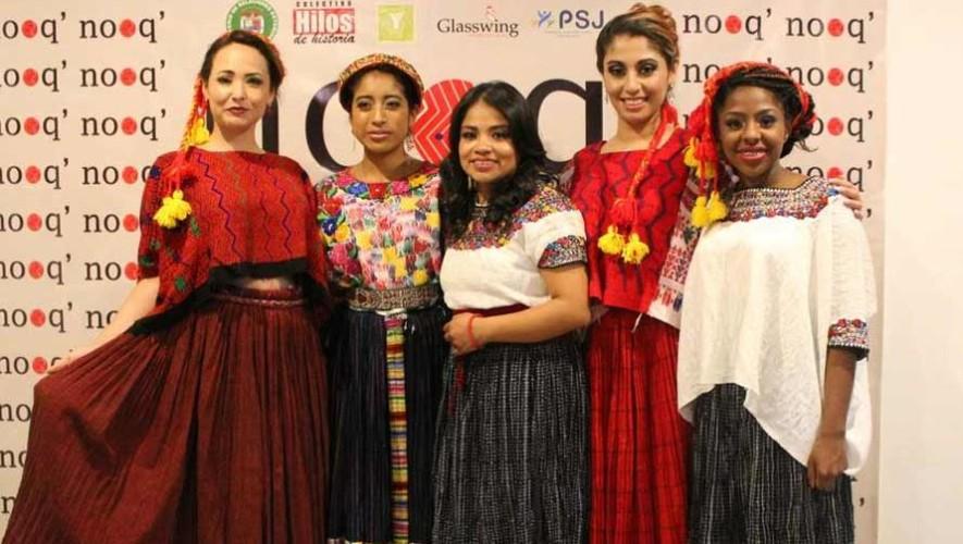 Actriz de Ixcanul, María Mercedes Coroy, modela textiles guatemaltecos