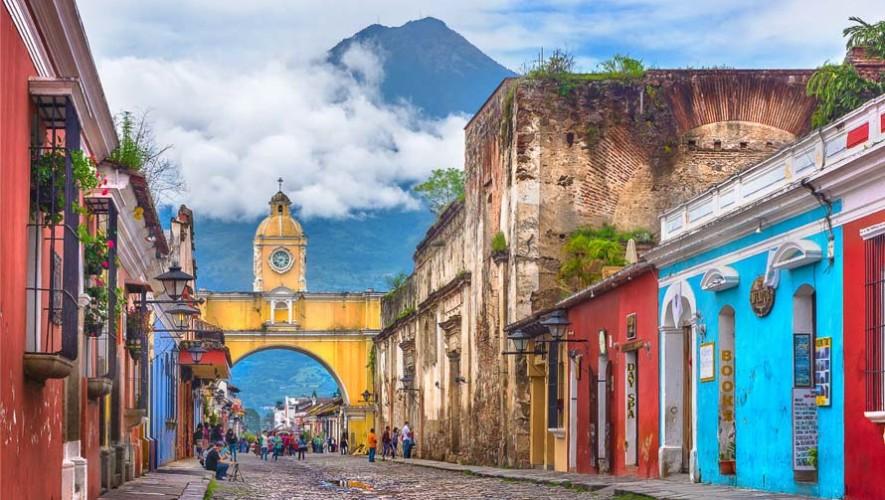 Antigua Guatemala elegida como una de los 25 lugares más coloridos