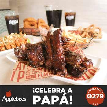 Applebee's promoción del día del padre en Guatemala