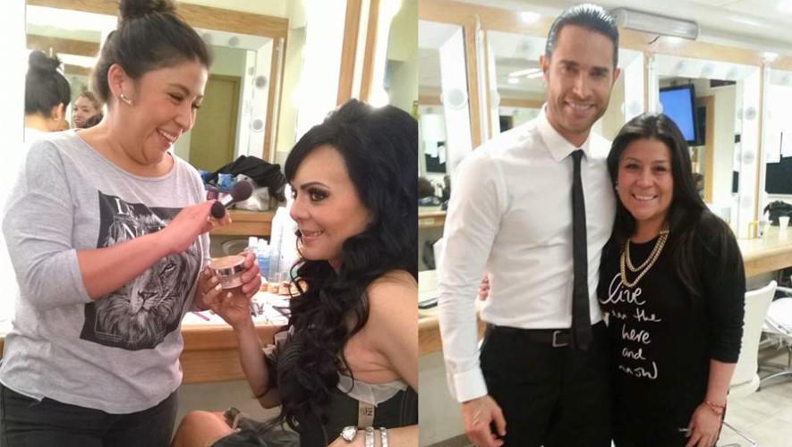 Beatriz Moreno es maquillista de reconocidos actores en México (2)
