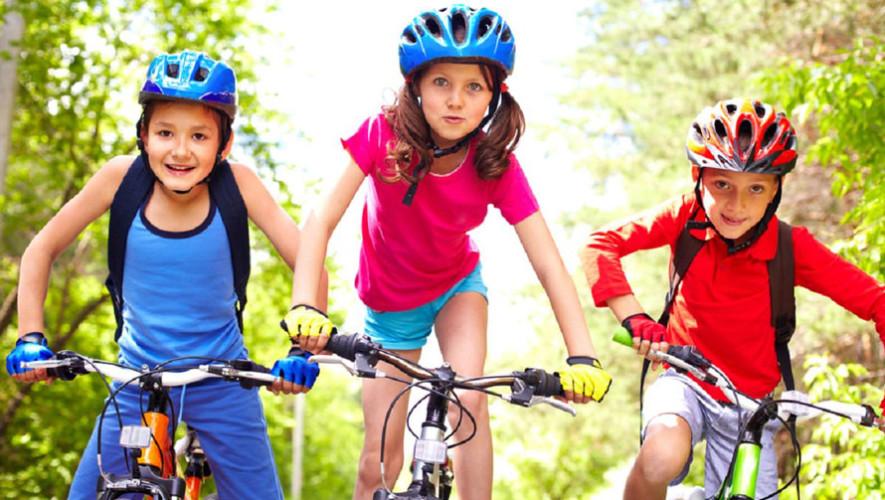 Recorrido en bicicleta para niños   Julio 2017