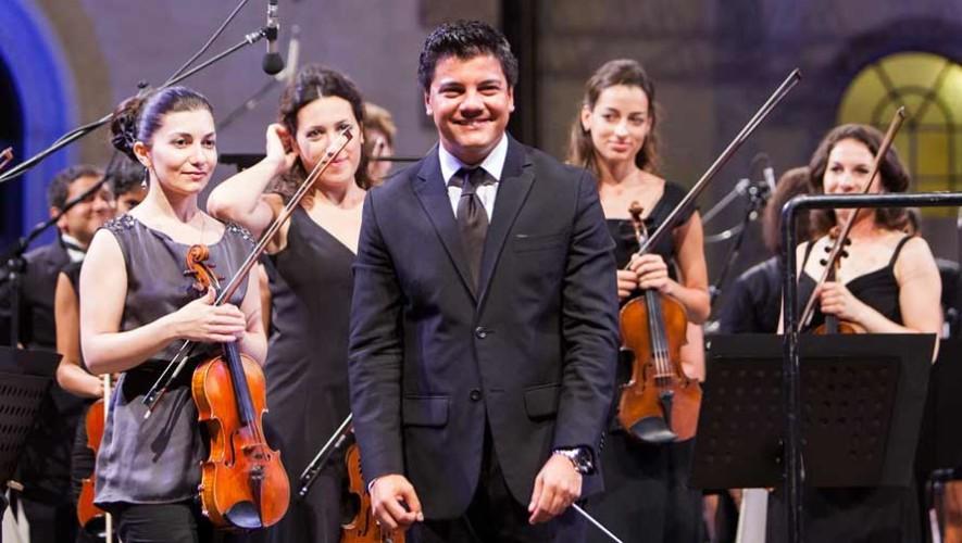 Bruno Campo, músico y director guatemalteco, dirige Antepar en Dinamarca