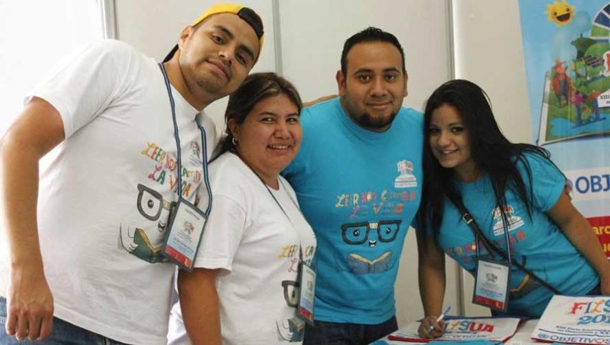 Buscan voluntarios para la Feria Internacional del Libro en Guatemala, Filgua 2017