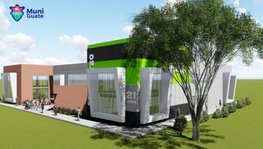 Construirán en la Ciudad de Guatemala 3 Centros de Capacitación Tecnológica. (Foto: Municipalidad de Guatemala)