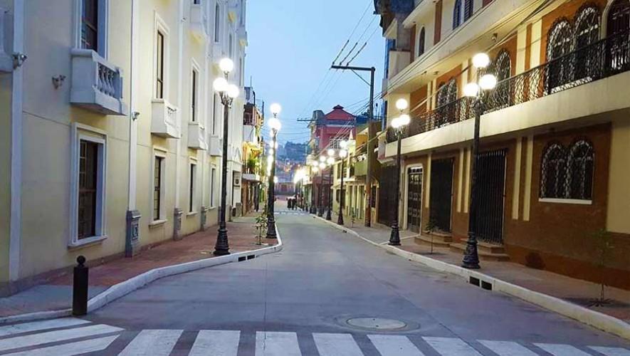 Fotos de la atractiva calle de Salcajá en Quetzaltenango