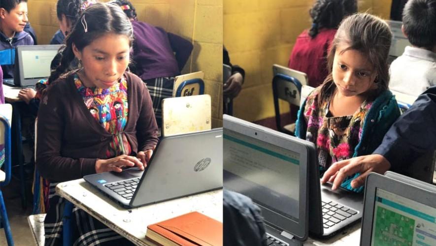 Inauguran la primera aula digital móvil en Chimaltenango