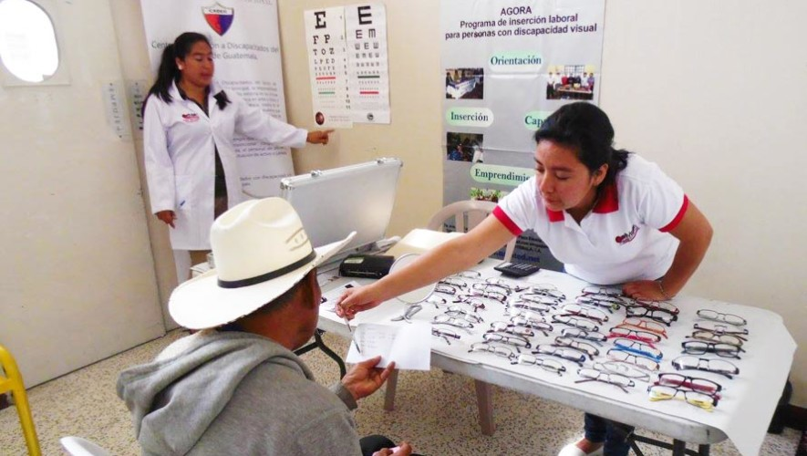 Jornada Oftalmológica gratuita en Guatemala, junio 2017