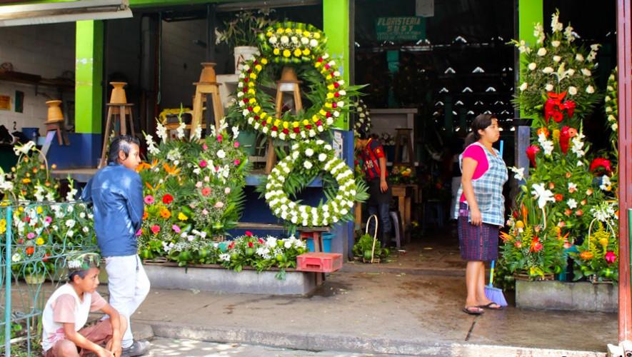 Mercado De Flores En La Ciudad De Guatemala Los Mercados