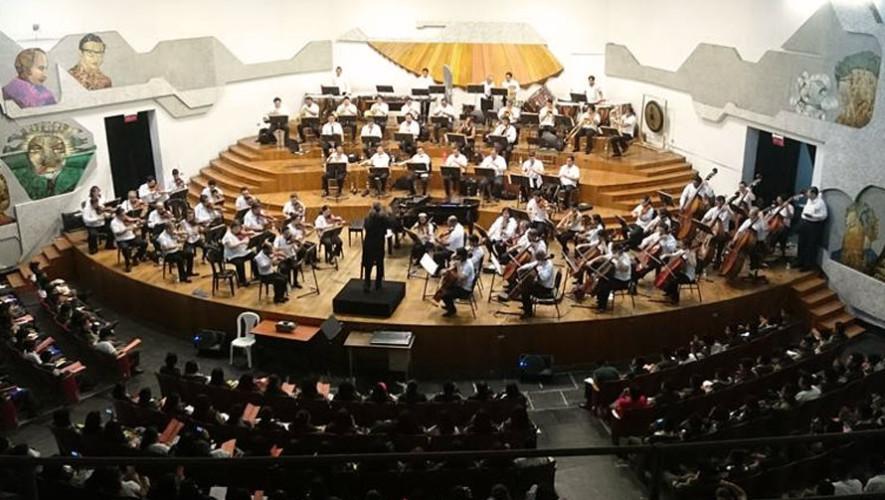 Concierto de la Orquesta Sinfónica Nacional de Guatemala | Junio 2017
