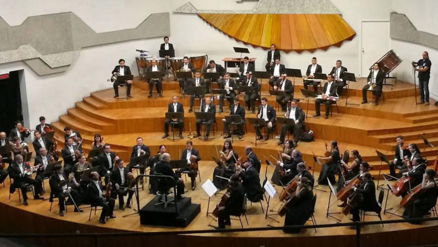 IV Concierto de la Orquesta Sinfónica Nacional de Guatemala | Junio 2017