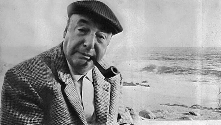 Pablo Neruda visitó Guatemala y se hospedó en un hotel de Quetzaltenango el 10 de mayo de 1950