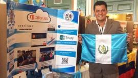 Profesor Luis Santizo ganó el Educator Exchange de Microsoft 2017