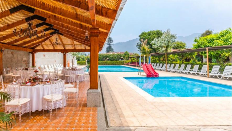 Hotel soleil antigua guatemala hoteles con piscina en for Hoteles con piscina