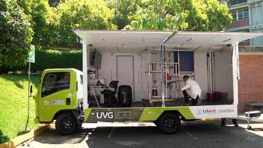 Steam Truck es el laboratorio móvil donde los estudiantes aprenderán de ciencia