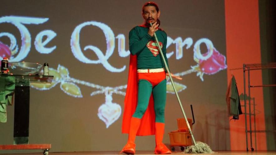 Obra de teatro Superman en Antigua Guatemala | Octubre 2017