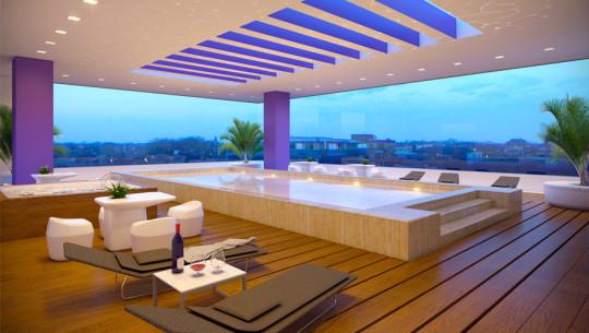 Hermosas piscinas en terraza que querr s conocer en guatemala for Piscinas y terrazas ideales